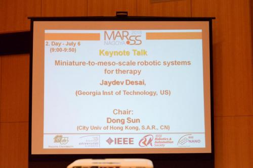MARSS 2018, July 05 - Day 2